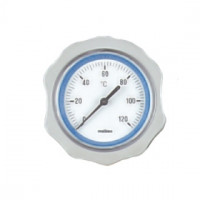 Осевой термометр Meibes для насосных групп (синий)