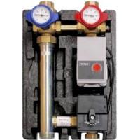 """VDM 25 насосная группа для регулируемого контура отопления с бесступенчатым насосом и смесителем R 1"""""""